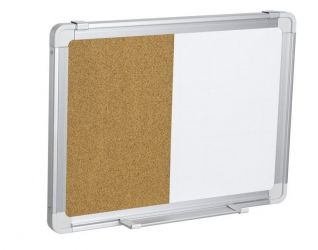 Whiteboard Corkboard Combination Board